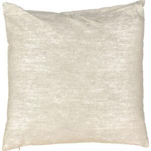 Casi-nuevo-y-sin-usar-y-plata-plumas-Relleno-Cojin-Decoracion-jaspeado-50x50cm-comprar-1-2-o-4