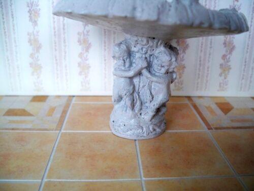 1:12 Miniature Jardin Fontaine-Vasque à oiseaux pour la maison de poupée