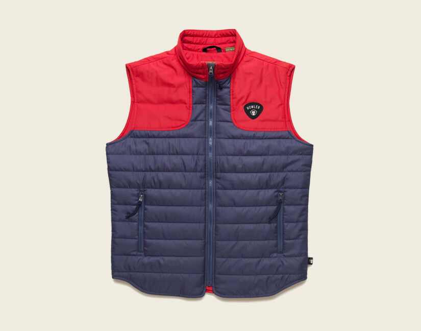 Howler Bredhers MERLIN Vest  Navy   Fireball NEW  Size Small  CLOSEOUT
