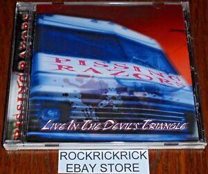 PISSING-RAZORS-LIVE-IN-THE-DEVIL-039-S-TRIANGLE-16-TRACK-CD-BRAND-NEW