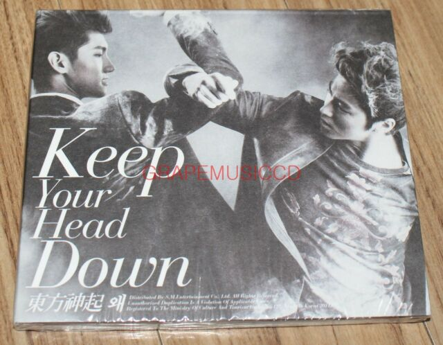 TVXQ! TVXQ Keep Your Head Down WHY Normal Ver. K-POP CD SEALED
