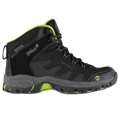 Kids Gelert Softshell Mid Junior Walking Boots Respirant Imperméable Neuf