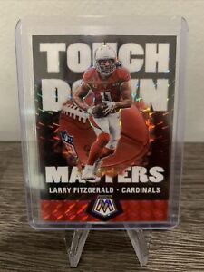 2020-Panini-Mosaic-Larry-Fitzgerald-Touchdown-Masters-Silver-Mosaic-Prizm-SP
