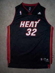 Cosido-Miami-Heat-Shaq-o-039-Neal-NBA-Adidas-Camiseta-Youth-Ninos-Chicos
