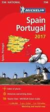 Spain & Portugal 2017 (Michelin National Maps), Michelin | Map Book | 9782067218