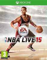 NEW SEALED Official 2015 NBA Live 15 Microsoft XBox One Basketball Game PAL