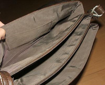 Damen-Handtasche / Schultertasche Dunkelbraun