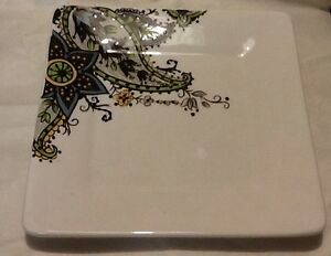 Image Is Loading Tabletops Gallery 034 Angela 034 Salad Plate Hand