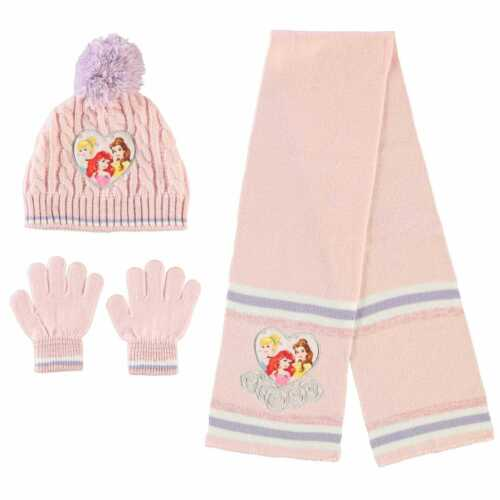 Kids Character Knitted 3 Piece Set Childs Winter New