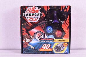 New Bakugan Battle Planet Resurgence Darkus Hydranoid Starter Set