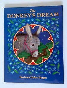 The Donkey's Dream 1st Printing Edition HC/DJ by Barbara Helen Berger Very Good