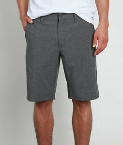 Volcom-Men-039-s-Surf-amp-Turf-4-Way-Stretch-Charcoal-Grey-Board-Shorts-Retail-60