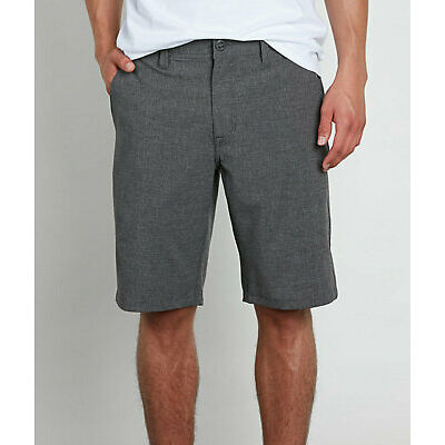 Volcom Men's Surf & Turf 4 Way Stretch Charcoal Grey Board Shorts (Retail $60)