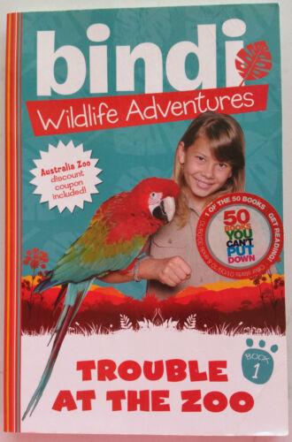 1 of 1 - Bindi Wildlife Adventure 1:Trouble at the Zoo by Bindi Irwin (Paperback, 2010)