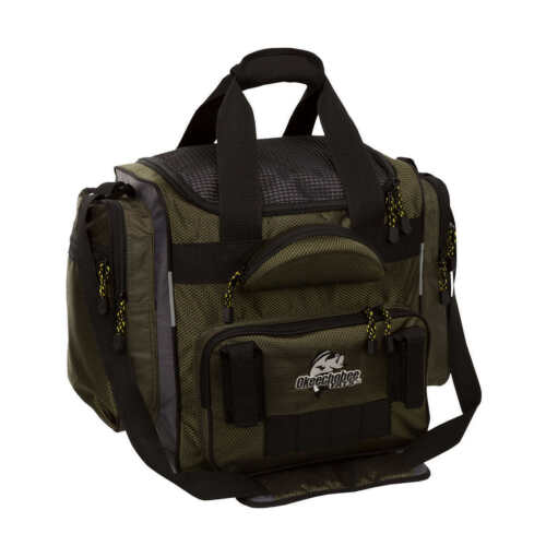 Okeechobee Fats XL Tackle Bag 4 Large Utility Boxes Sunglass Compartment Heavy D