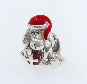 Détails sur New Authentic Pandora DISNEY BOURRIQUET Noël chapeau rouge  charme Pendentif 798449C01- afficher le titre d'origine