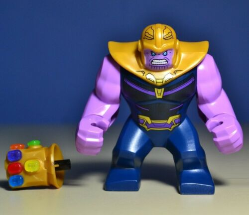 Lego Thanos Minifigure Gauntlet With All 6 Stones 76107