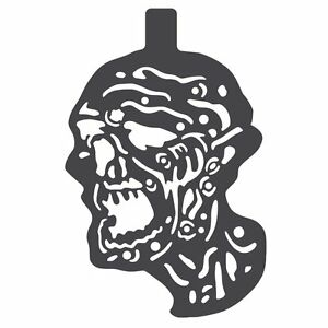 Zombie Magnetic Painting Stencil for Steel Targets ...