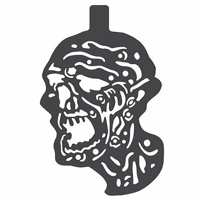 Zombie Magnetic Painting Stencil for Steel Targets | ShootingTargets7