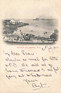 Rare-Vintage-Lovely-Postcard-Portrush-Co-Antrim-Northern-Ireland-July1902