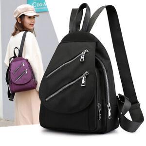 Water-Resistant-Nylon-Small-Mini-Backpack-Rucksack-Daypack-Travel-bag-Purse