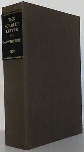 image is loading nathaniel hawthorne the scarlet letter first edition