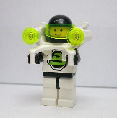LEGO 5x Blacktron II Minifigures Classic Space Astronaut Blaster Jetpack 6812