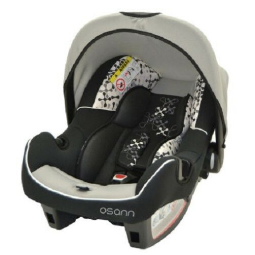 Osann Corail black Babyschale BeOne SP Baby Kindersitz Autositz Auto KFZ 0+