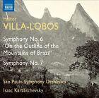 Villa-Lobos: Symphony No. 6 'On the Outline of the Mountains of Brazil'; Symphony No. 7 (CD, Sep-2012, Naxos (Distributor))