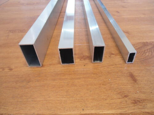 Aluminium Rectangular Tube Alloy ,Spacers ,Box Section 6082t6 quality 225cm long