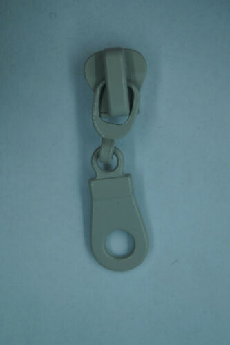 Ersatz-Zipper für Reißverschlüsse Schieber Reissverschluss Plastik Metall 5-6mm