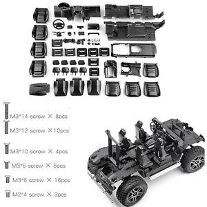 RC-Car-Interior-Cab-Console-Seat-Kit-pour-TRAXXAS-TRX4-TRX6-G500-G63-6x6-BENZ-FG