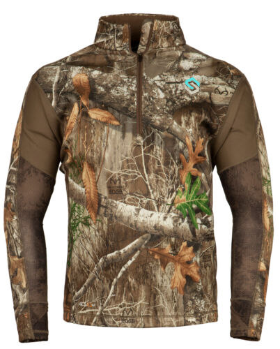 Realtree Edge, XX-Large Details about  /ScentLok Womens BaseSlayer AMP 1//4 Zip Top