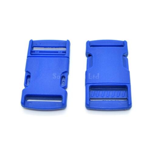 Haute qualité side release boucles clips ✄ diverses couleurs ✄ 10,15,20,25,30,40 mm