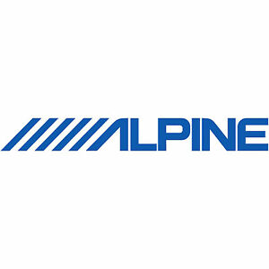 2x alpine logo 5 decal sticker car truck audio navigation stereo rh ebay com stereologic stereological analysis