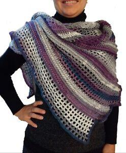 vendita economica più tardi alta moda scialle stola artigianale lana caldo sciarpa donna autunno inverno ...