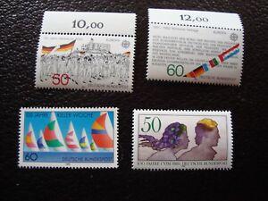 Germany-Rfa-Stamp-Yvert-Tellier-N-962-A-965-N-MNH-CAM1