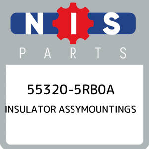 55320-5RB0A-Nissan-Insulator-assymountings-553205RB0A-New-Genuine-OEM-Part