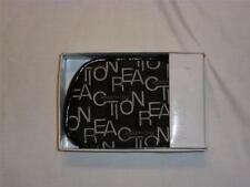 NWT Kenneth Cole Reaction Small Clutch Purse Black Cloth w/ Logo MSRP $48.00