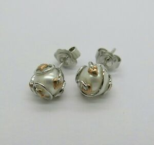 Clogau-Gold-Pearl-Tree-Of-Life-Earrings