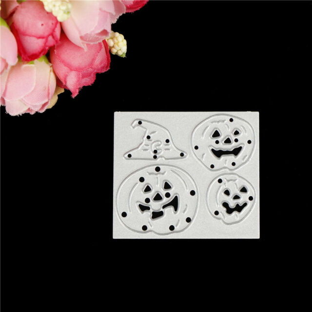Pumpkins Metal Cutting Dies for DIY Scrapbooking Album Cards Halloween Decor Pip