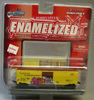 Maisto Enamelized Diecast cushion Underframe Graffiti Train Collectible 15019a