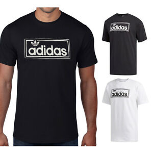 Adidas-Men-039-s-Short-Sleeve-Cotton-New-Icon-Graphic-T-Shirt