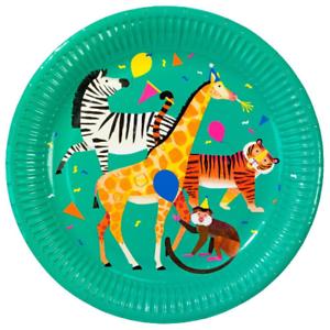 Anniversaire Parti Animaux Plaques-Jungle Party vaisselle Wild Party Tropical