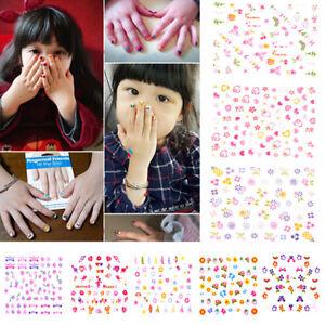 5Sheets-Cartoon-Kids-Safety-Nail-Stickers-DIY-Makeup-Nail-Art-Christmas-Gift-Fz