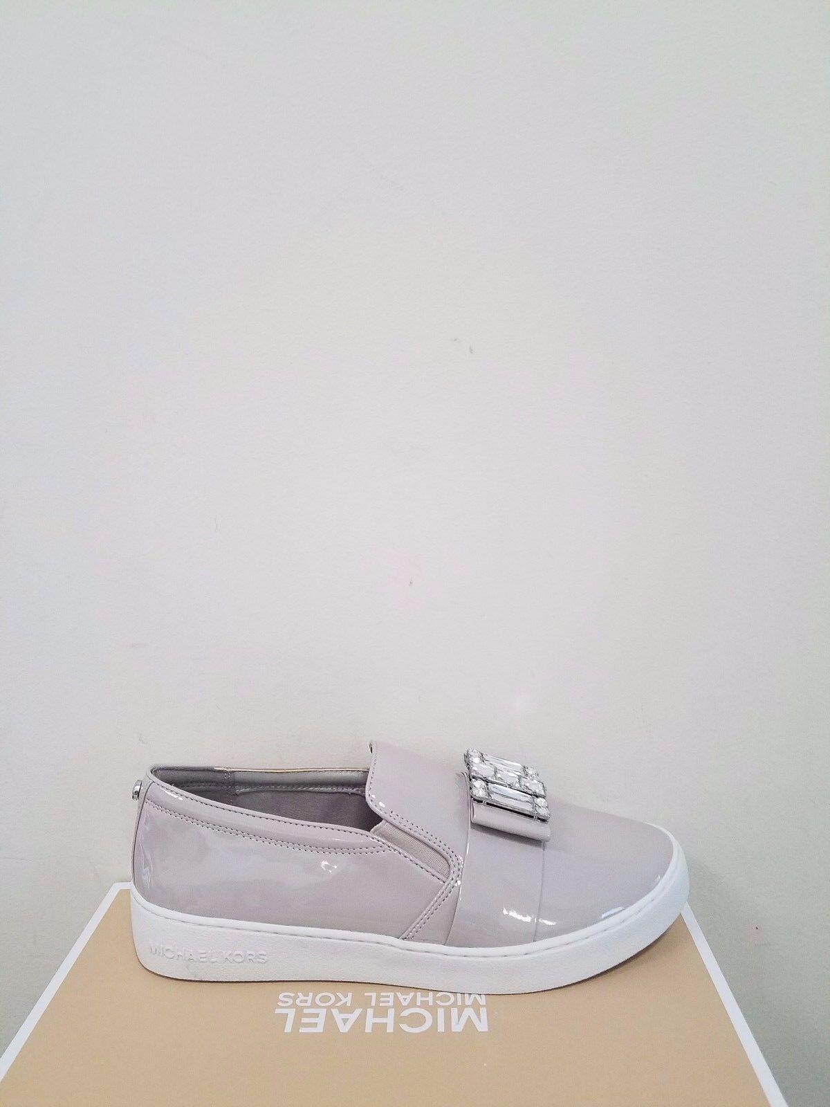 MICHAEL Michael Kors Women's Michelle Faux-Patent Jewel Sneaker Size 6 NIB