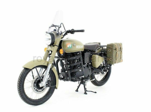 Royal Enfield Classic 500cc 350cc Sand Color Pannier Pair Set with Fitting Frame