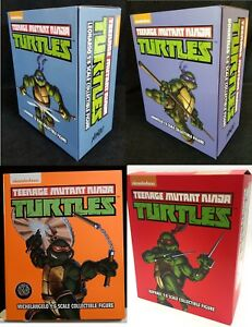Teenage-Mutant-Ninja-Turtles-MONDO-1-6-Scale-Complete-Set-4-Action-Figures-TMNT