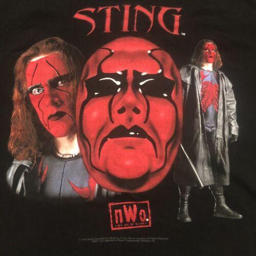 vtg STING T-shirt WCW NWO Wrestling Wolfpack T-Shi