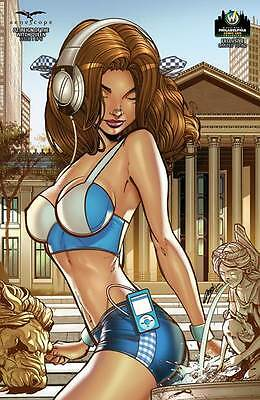 Zenescope GFT Oz Reign Of Witch Queen #1 Cover G 2015 WW Philly Exclusive Green